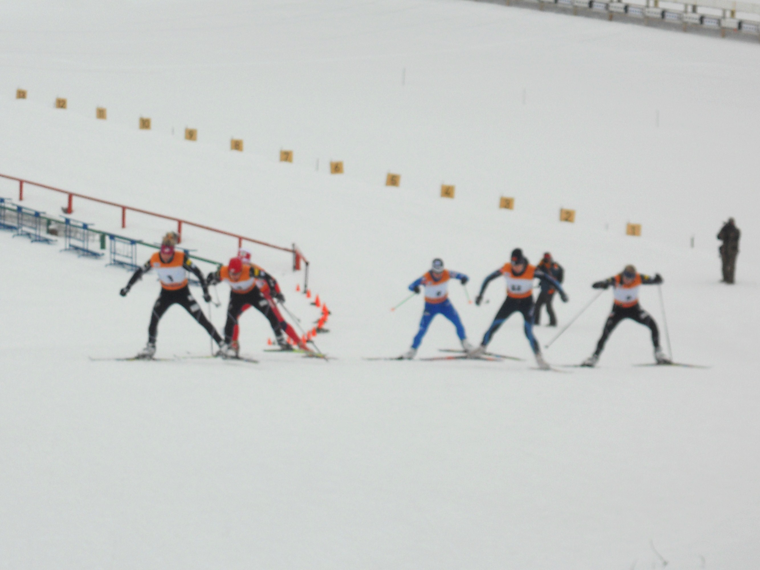 The semi-final for the sprint