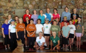 Ski and Tea dryland clinic