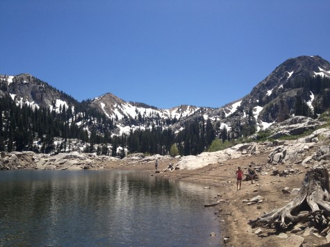 Lake Mary, a short hike into the Brighton Alpine area
