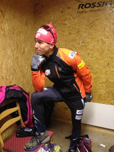 Das Hoff, contemplating life, skiing, Norway, his new headgear sponsor...big things