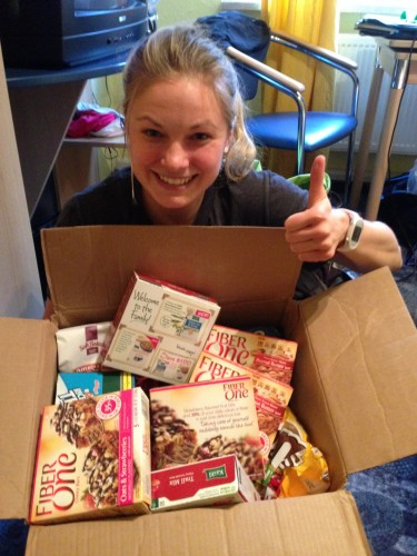 A great care package from PJ Mally! Thanks so much!