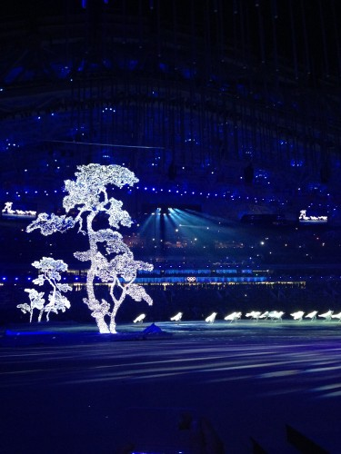 Pyeong Chang put on a cool show highlighting the upcoming games in 2018!
