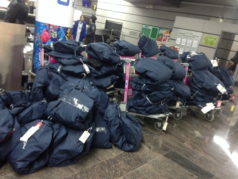That's a whole lot of Opening Ceremony outfits!