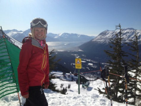 I love the view from the slopes at Alyeska!