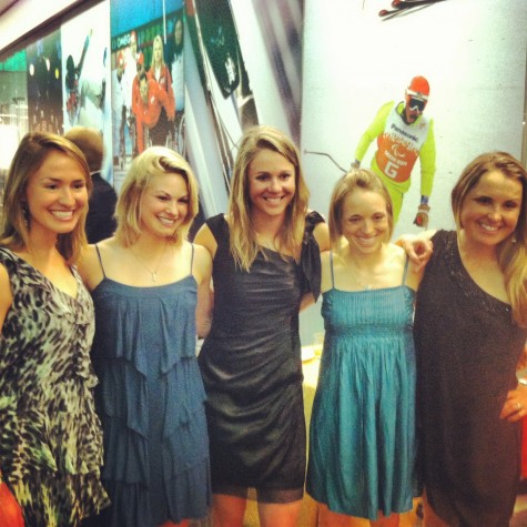 Sophie, Me, Sadie, Liz and Holly at the Best of US show (photo from Sadie)