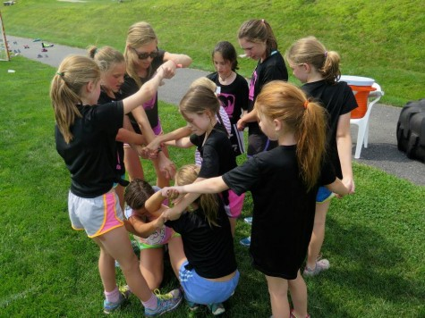 The human knot! De-tangling is hard....(photo by Lilly)