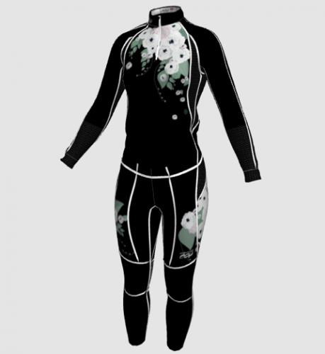 Women's floral suit