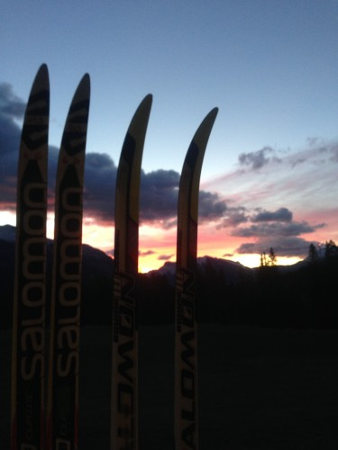A beautiful Canmore sunrise!