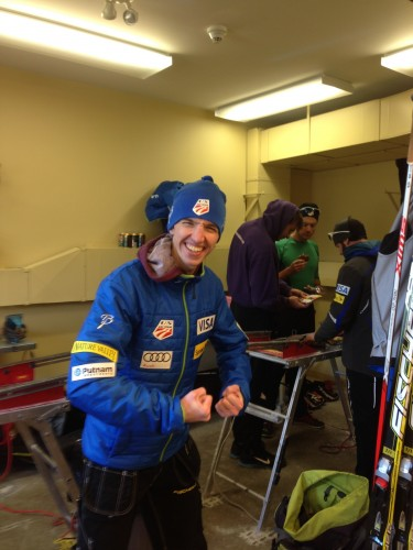 """Patrick Moore, aka """"Toque"""", bringing some energy to the scene!"""