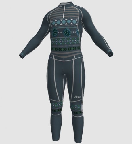 Unisex sweater suit