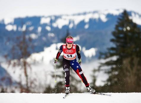 Salomon Nordic photo of me racing stage 1