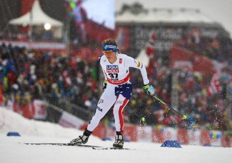 Near the start of the race (photo from Salomon Nordic)