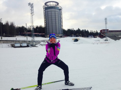 Oh my gosh! I get to go skiing! (photo from Sadie)