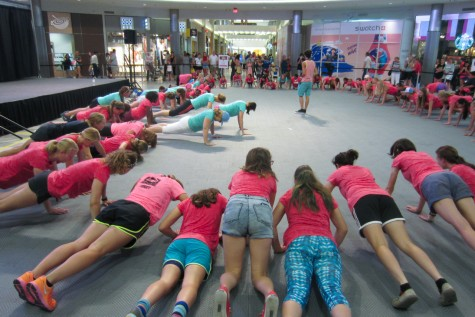 Get strong! Push-up time (photo from Bruce Adelsman)