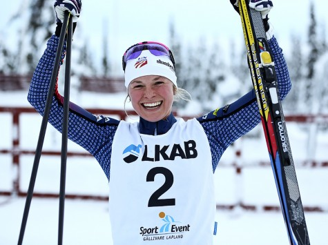 Happy to have some good classic sprinting to start the year! (photo from Sweski.com)