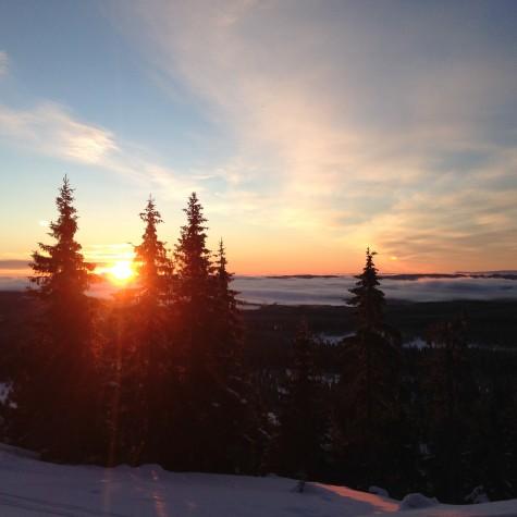 A beautiful sunrise to wake up to!