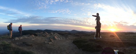 Sunset hiking! (photo from Sophie)