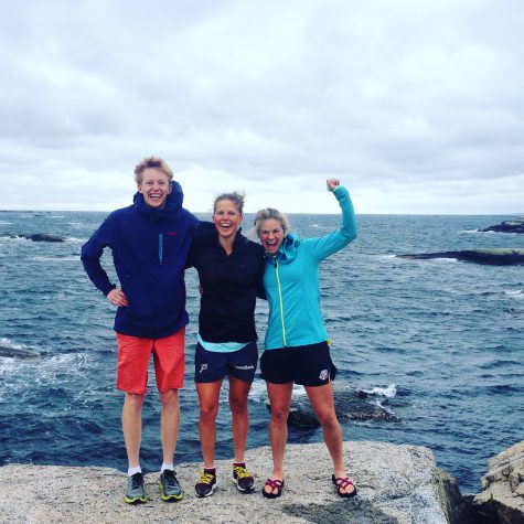 "Eirik, Kari and me at ""Verdens Ende"", or the end of the world!"