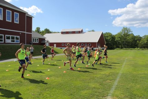 Foot drills across the soccer field. (photo by Sverre Caldwell)