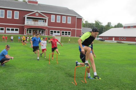 Hurdles and an obstacle course during one of our last agility sessions of summer training coaching the juniors! (photo by Lilly Caldwell)
