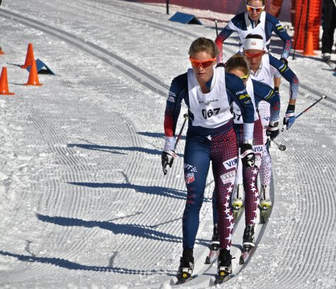 Racing in the 10km classic (photo by Matt Whitcomb)