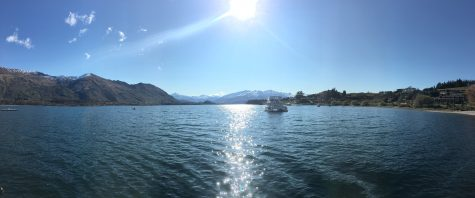 A view from the beach in Wanaka!