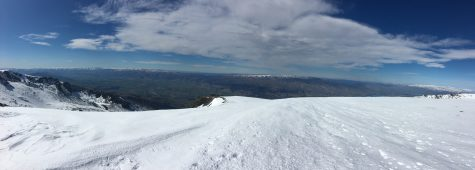 A panorama looking over the other side of the ridge!
