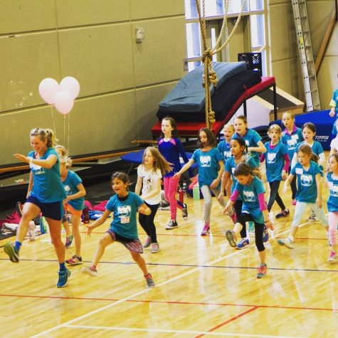 I was thrilled to help run the dance and endurance station, as usual! (photo from Reese Brown)