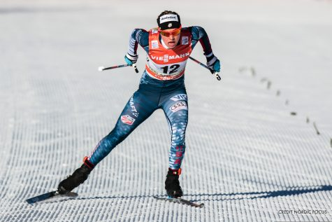 Finishing stretch of the 5km! (photo by Nordic Focus/Salomon)