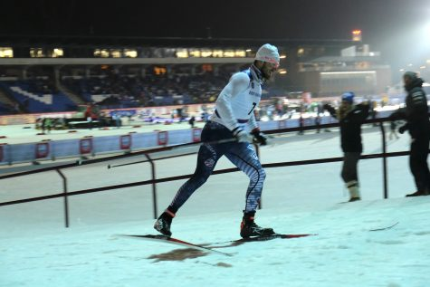 Andrew, smiling while racing (photo from Assar Jõepera)